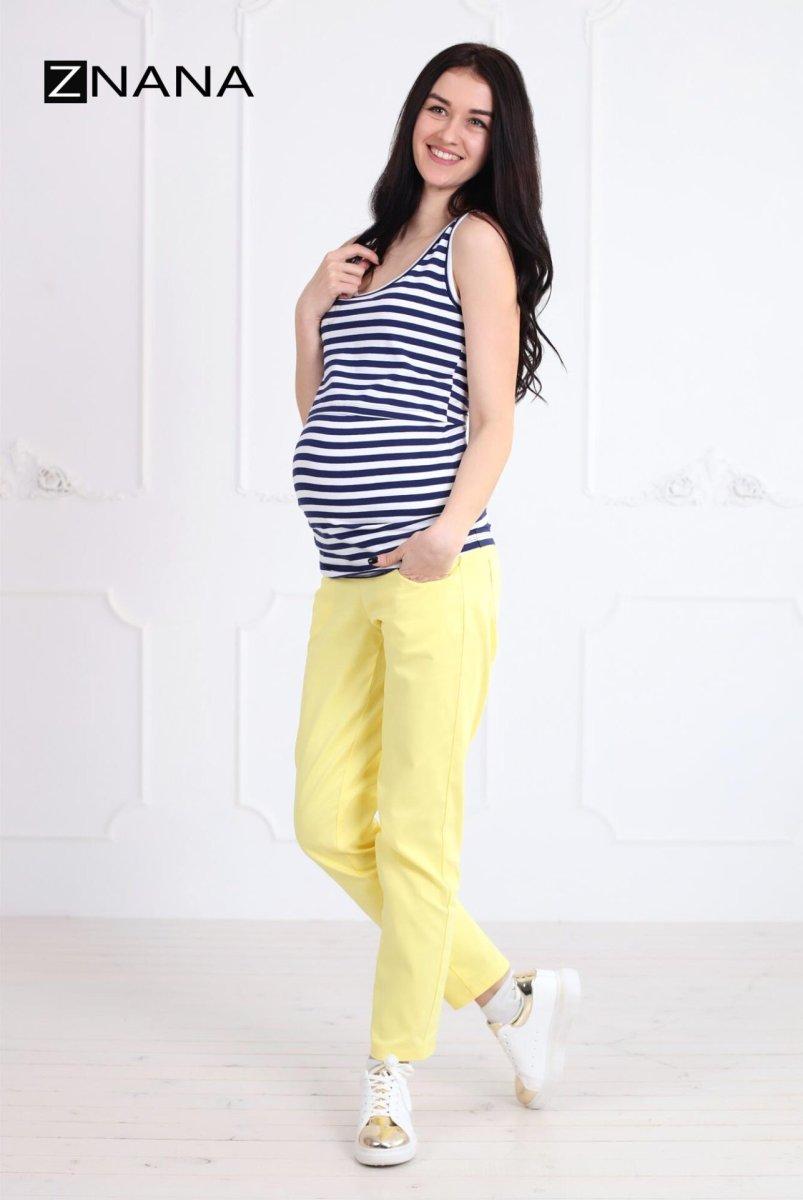 Майка Simple полоска для беременных и кормящих