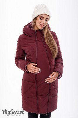 Зимове пальто Angie бордо