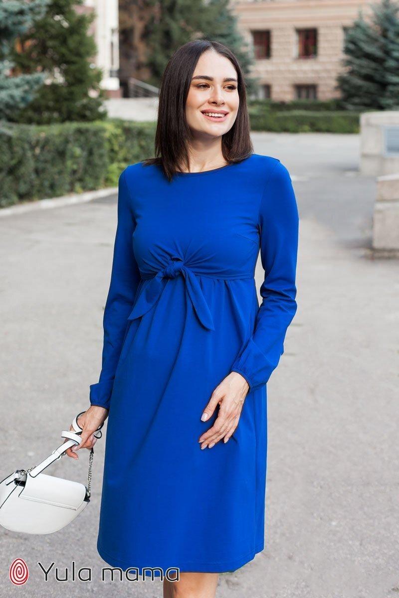 Сукня для вагітних і годуючих Ilonga синій