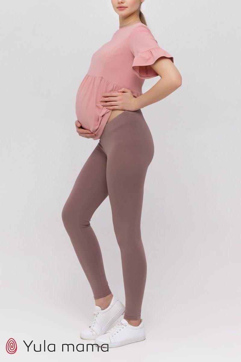 Лосины для беременных Kaily new капучино