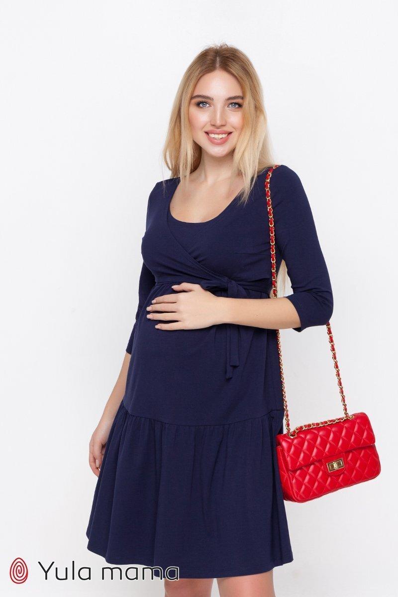 Нарядное платье Tara темно-синее