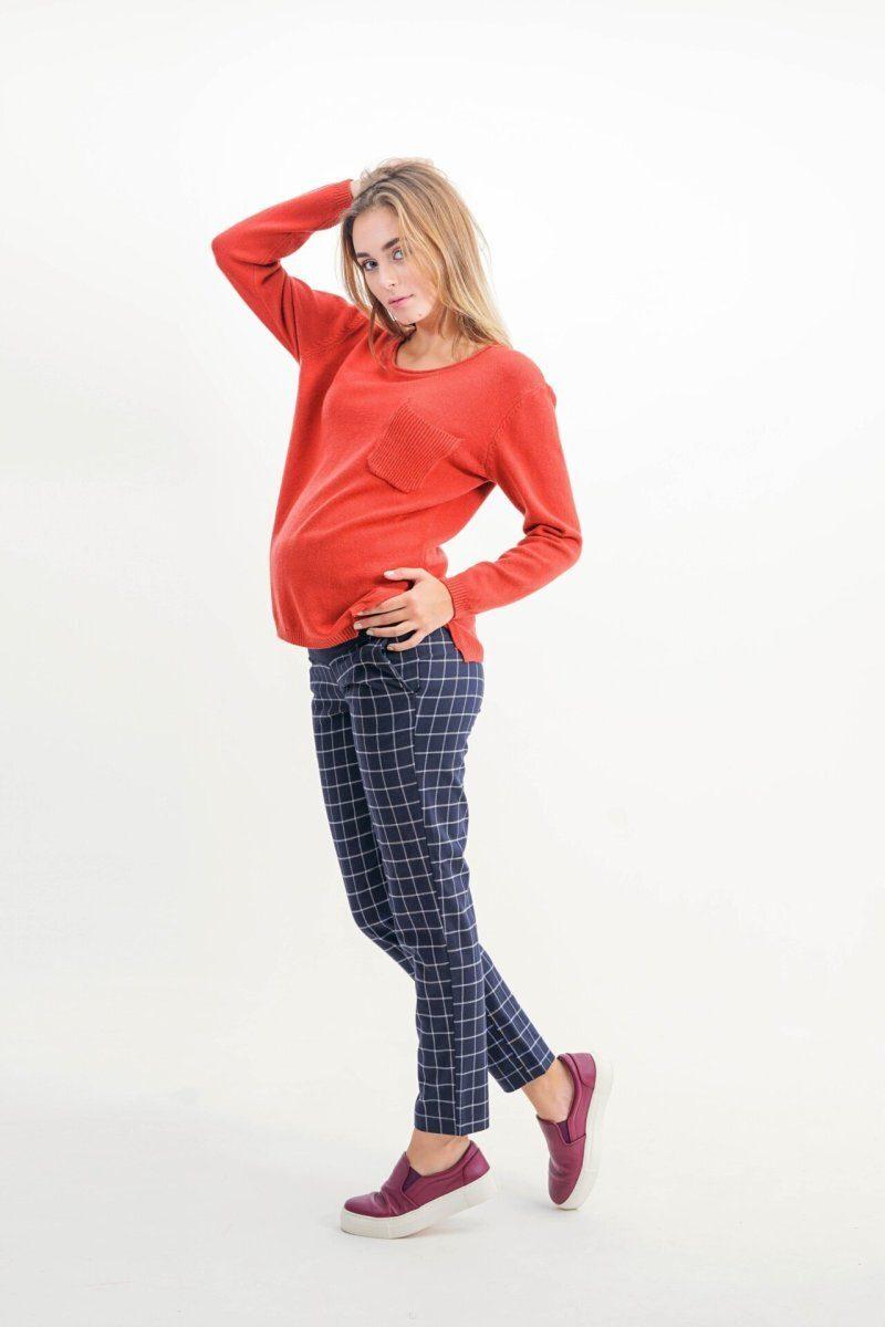 Брюки для беременных 1153268-2 темно синий