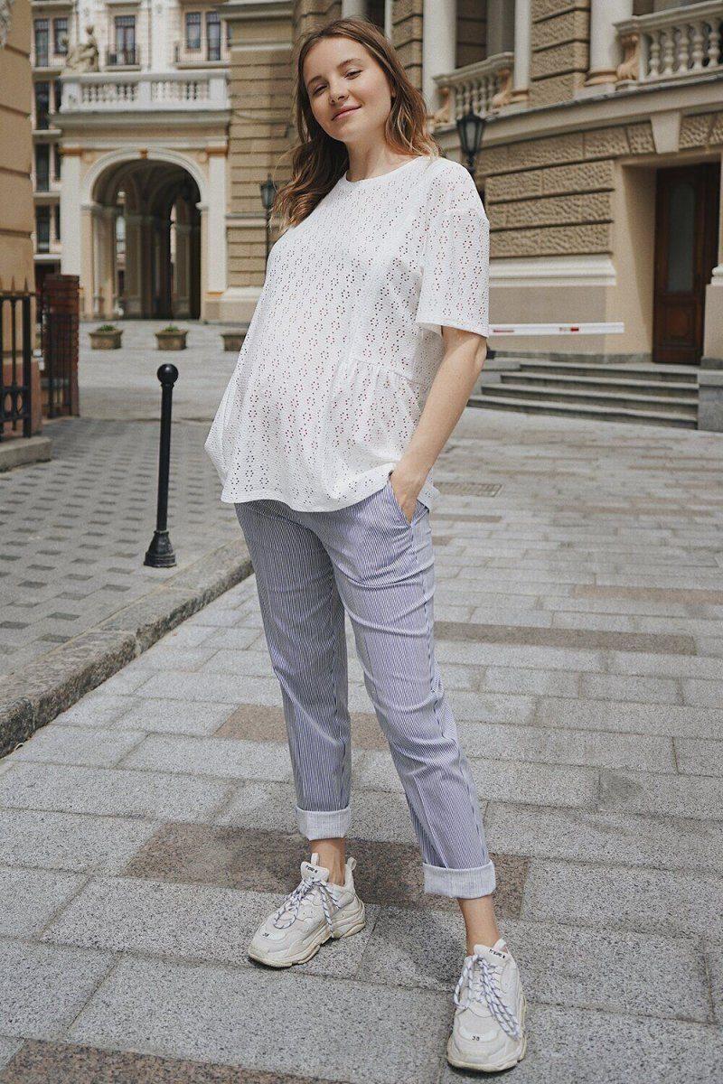 Штани для вагітних 1153716 денім
