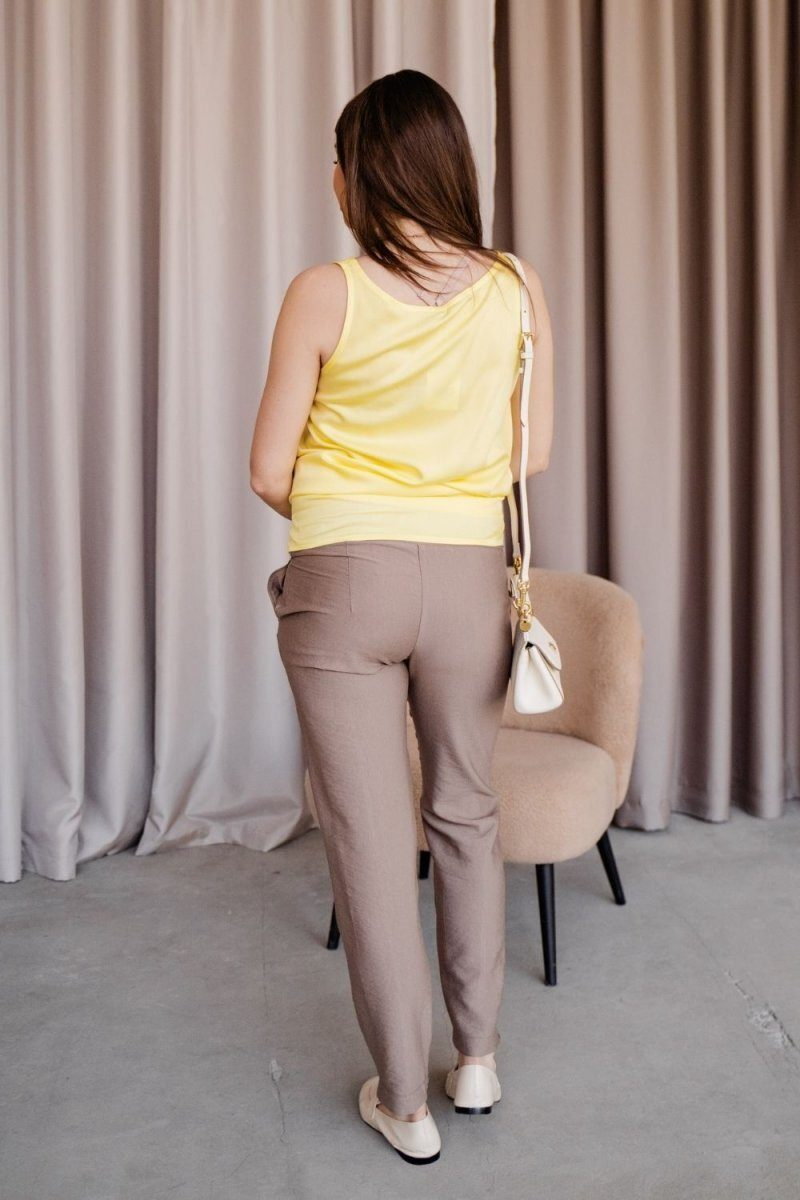Штани для вагітних 1153732 коричневий
