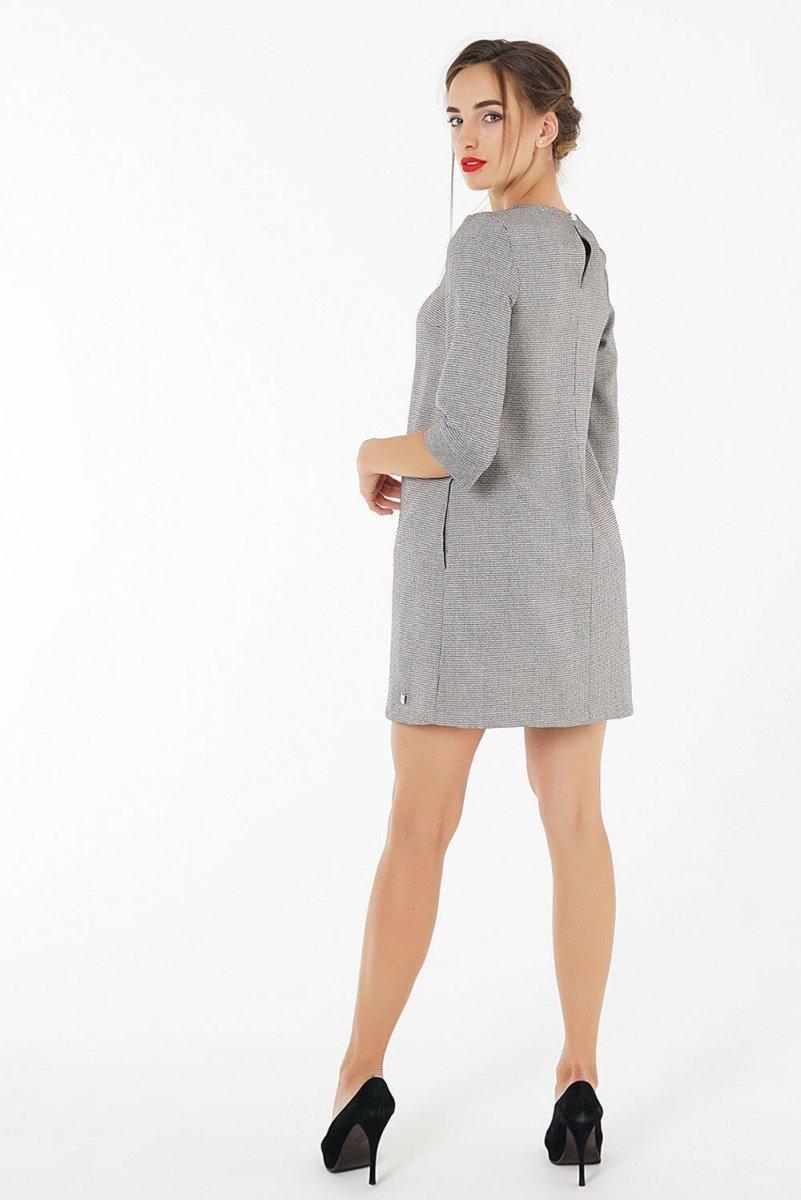 Платье для беременных 1285118 серый