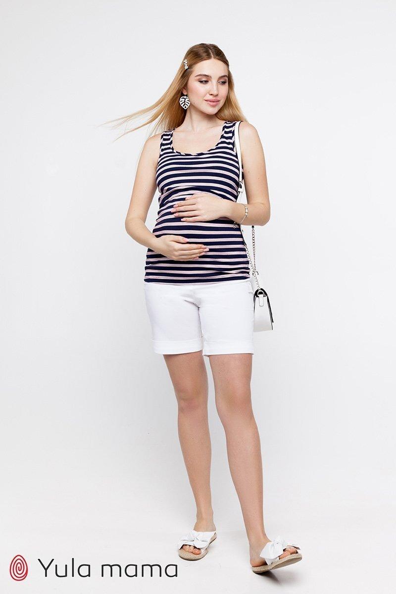 Шорты для беременных Mendie белый