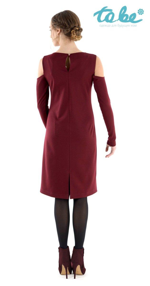Платье 1368167 бордо