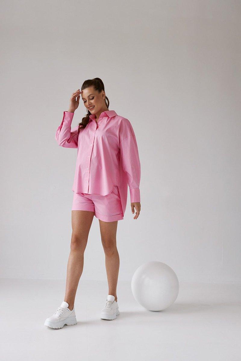 Шорты для беременных 1430 1526 розовый