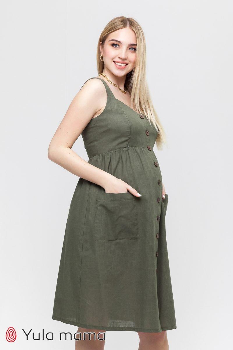 Сарафан для беременных и кормящих Melvin хакки