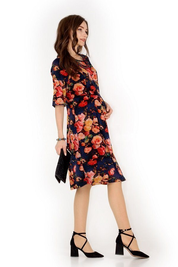 Платье 2в1 Цветочный бум