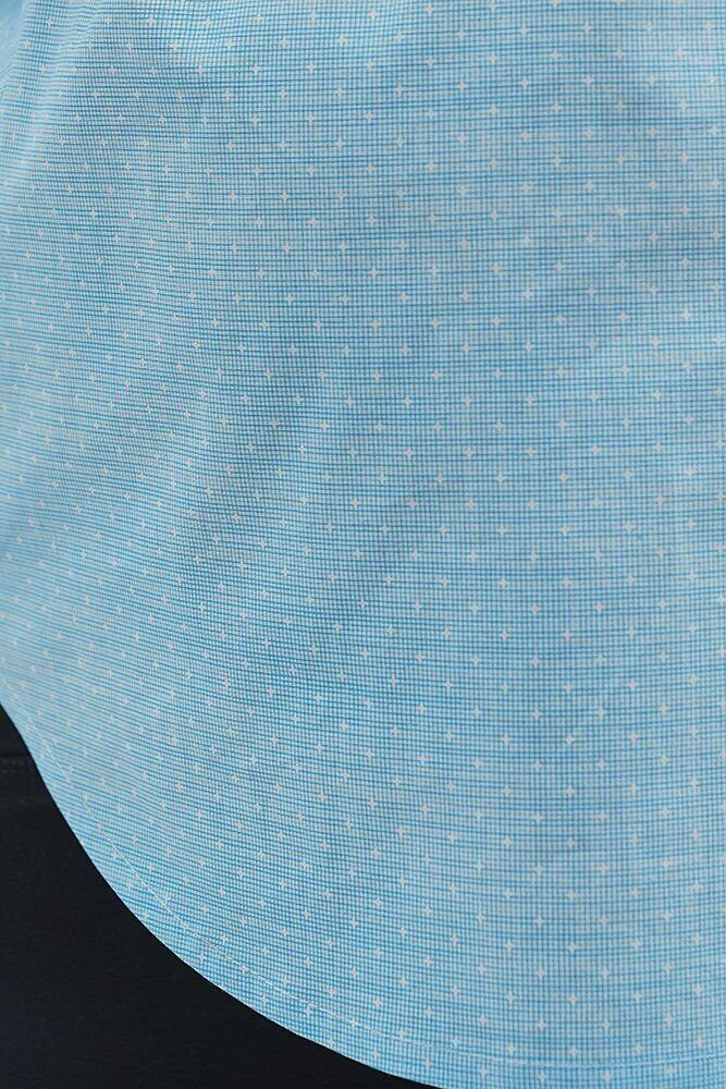 Блуза для беременных 1707224 небесно-голубой