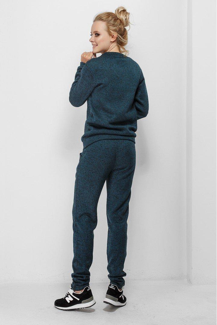 Спортивные штаны для беременных 1754-0000 Темно-бирюзовые
