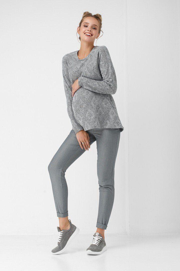Штаны для беременных 1812-0002 серые