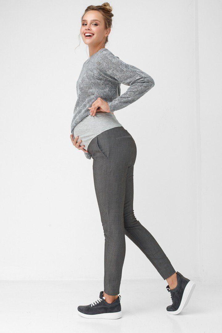 Штаны для беременных 1812-0003 серые
