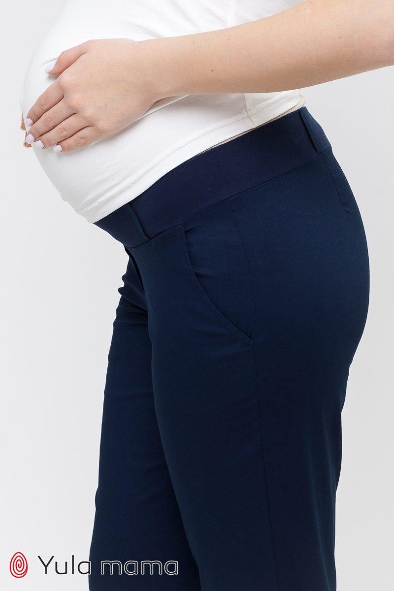 Брюки-чинос для беременных Evan синий