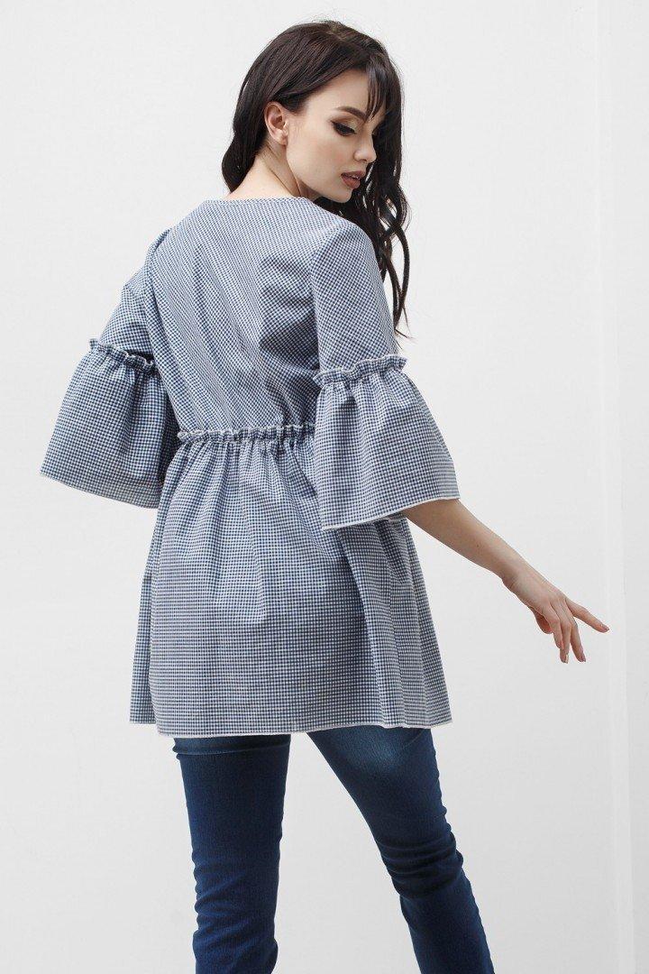 Блуза для беременных и кормящих 1829 0000 серая