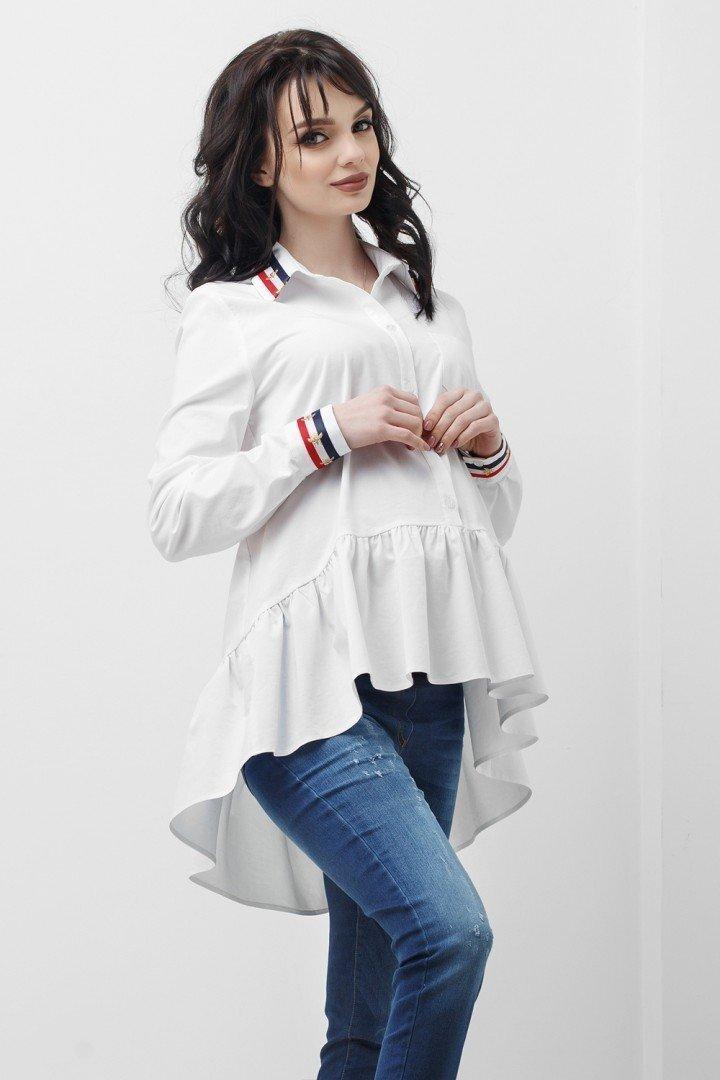 Рубашка для беременных и кормящих 1833 0173 белая