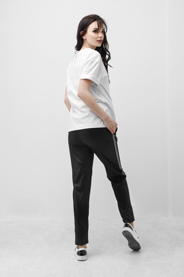 Спортивные штаны для беременных 1840 0936 черный