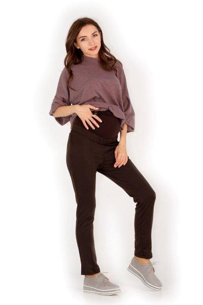 Брюки Стройные ножки (коричневые)