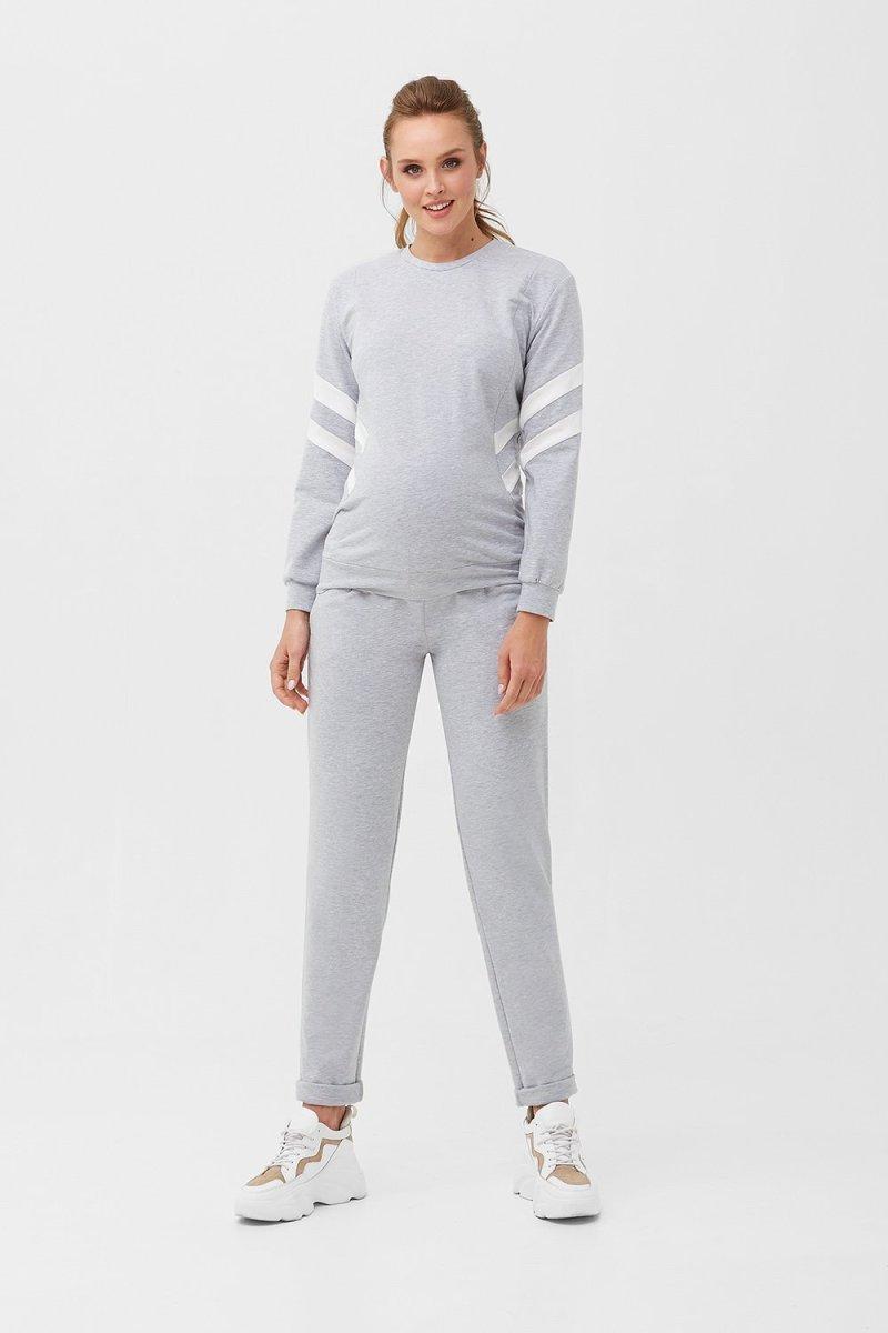 Штаны для беременных 1913 1360 серый