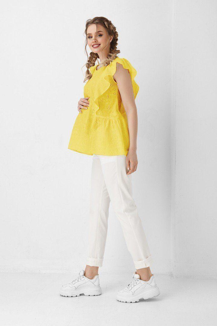 Блуза для вагітних і годуючих 1948 1100 жовта