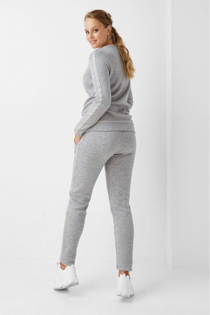 Спортивные брюки для беременных 1898-1093 серые