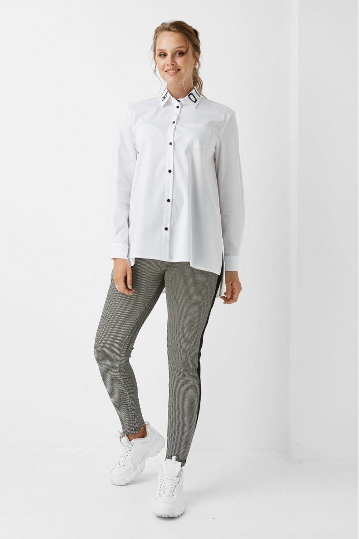 Рубашка для беременных 1976-0173 белая
