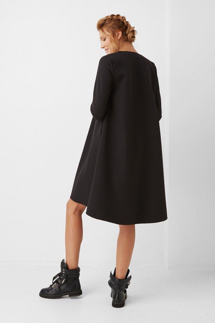 Платье для беременных 1987-0006 черное