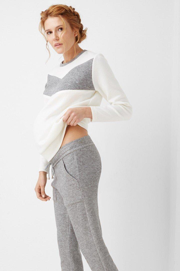 Штаны для беременных 1992-1093 серые