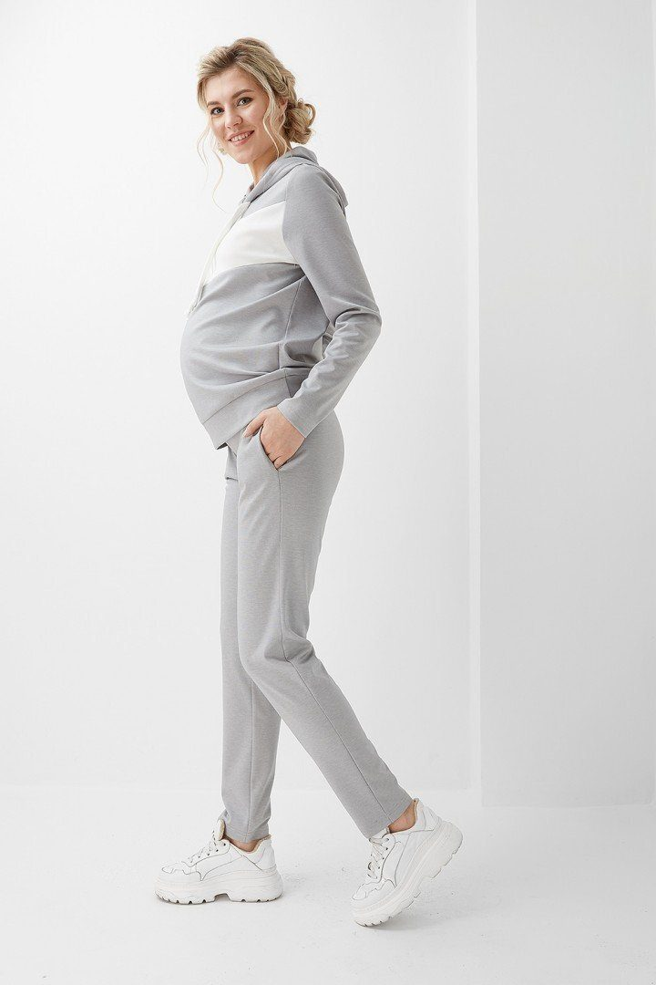 Спортивный костюм 2005(6) 1300 серый
