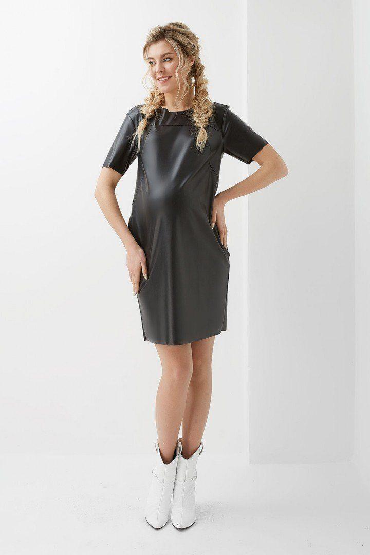 Платье для беременных и кормящих 2010 1309 черное