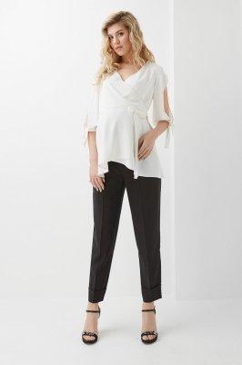 Блуза для беременных 2030 1323 молочная