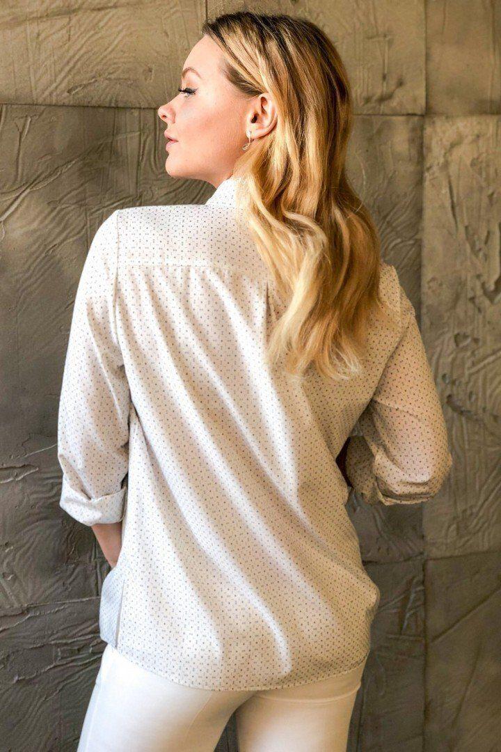 Рубашка для беременных 2039 1327 молочный