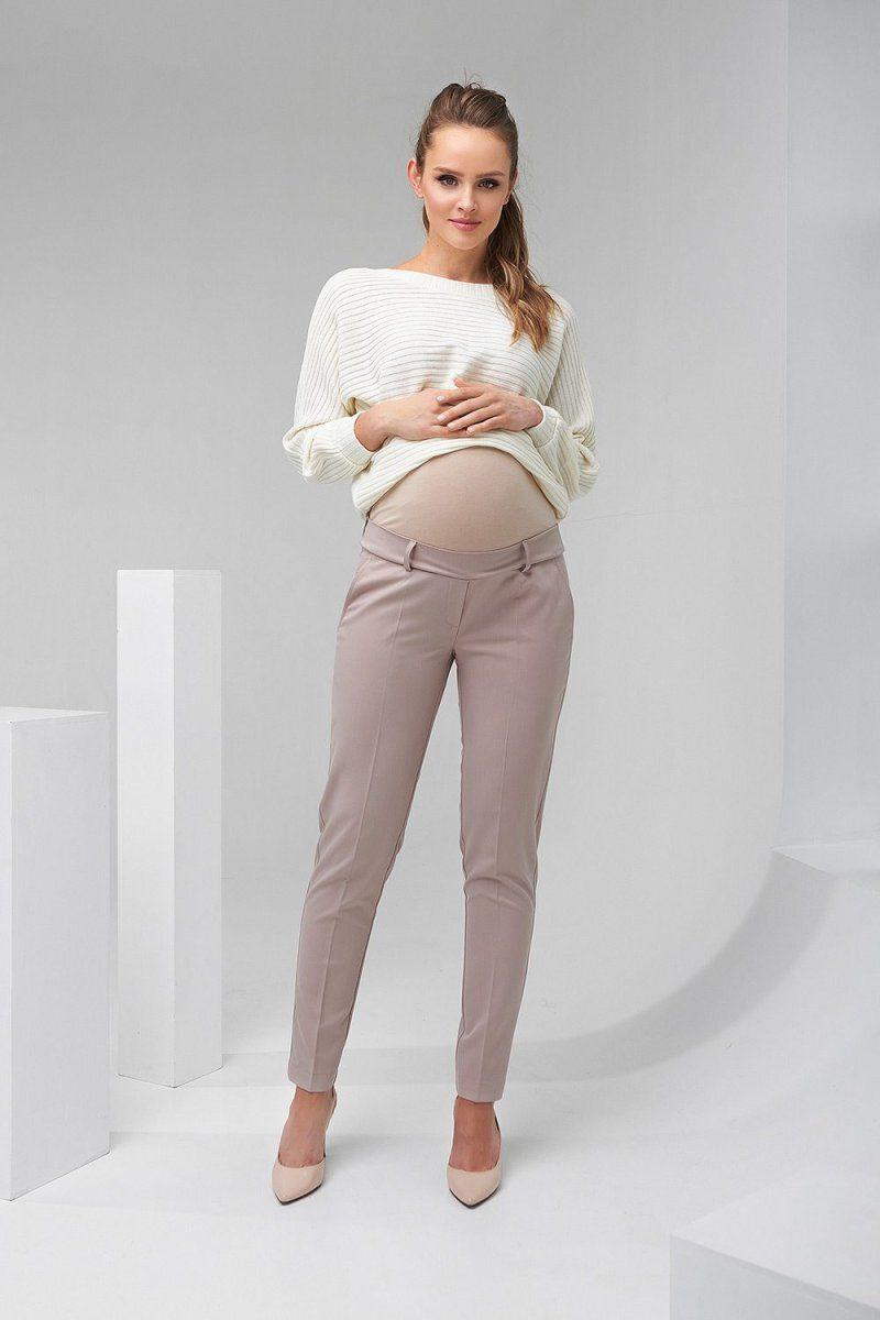 Штаны для беременных 2082 1406 бежевый