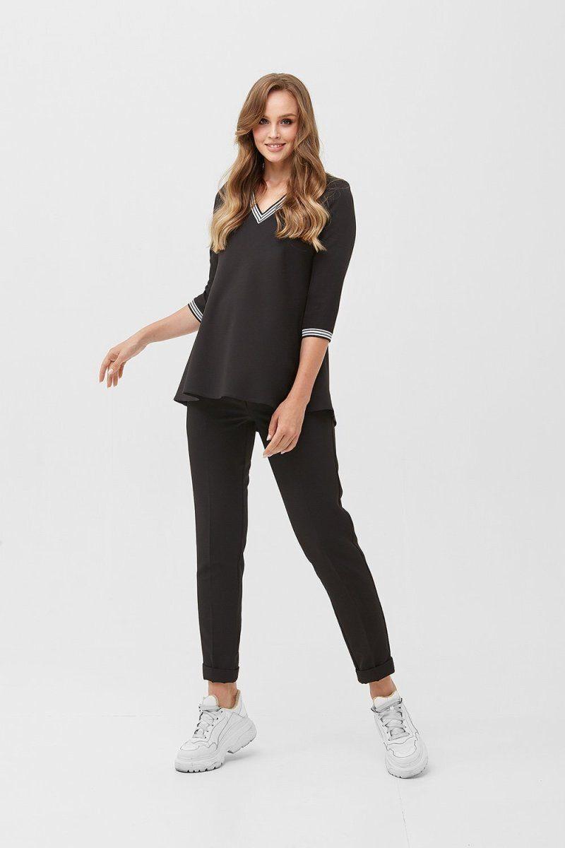 Блуза для беременных 2084 0006 черный