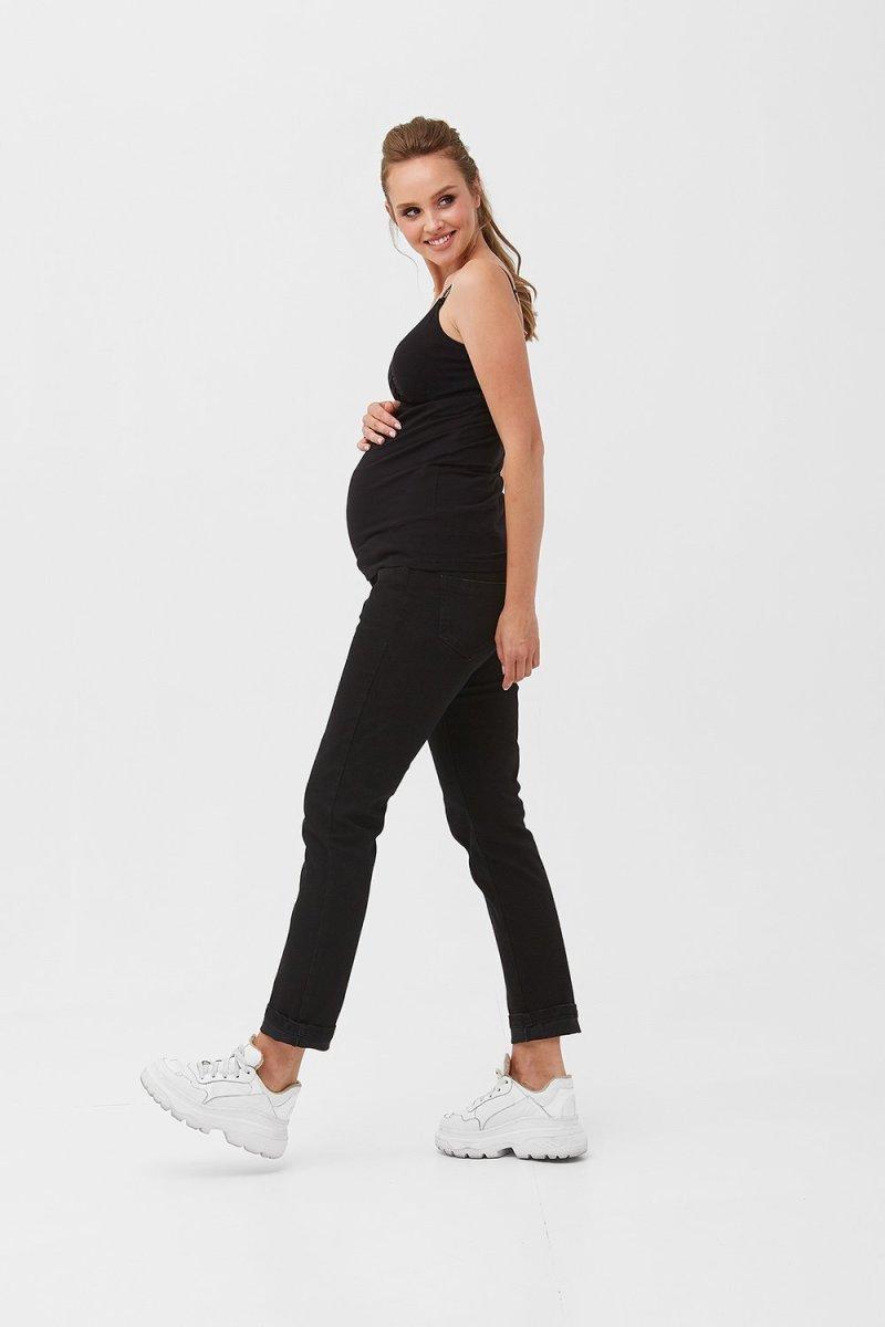 Майка для беременных и кормящих 2088 1397 черный