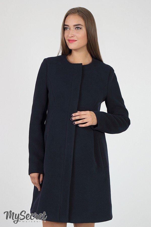 Пальто для беременных Madeleine темно-синие