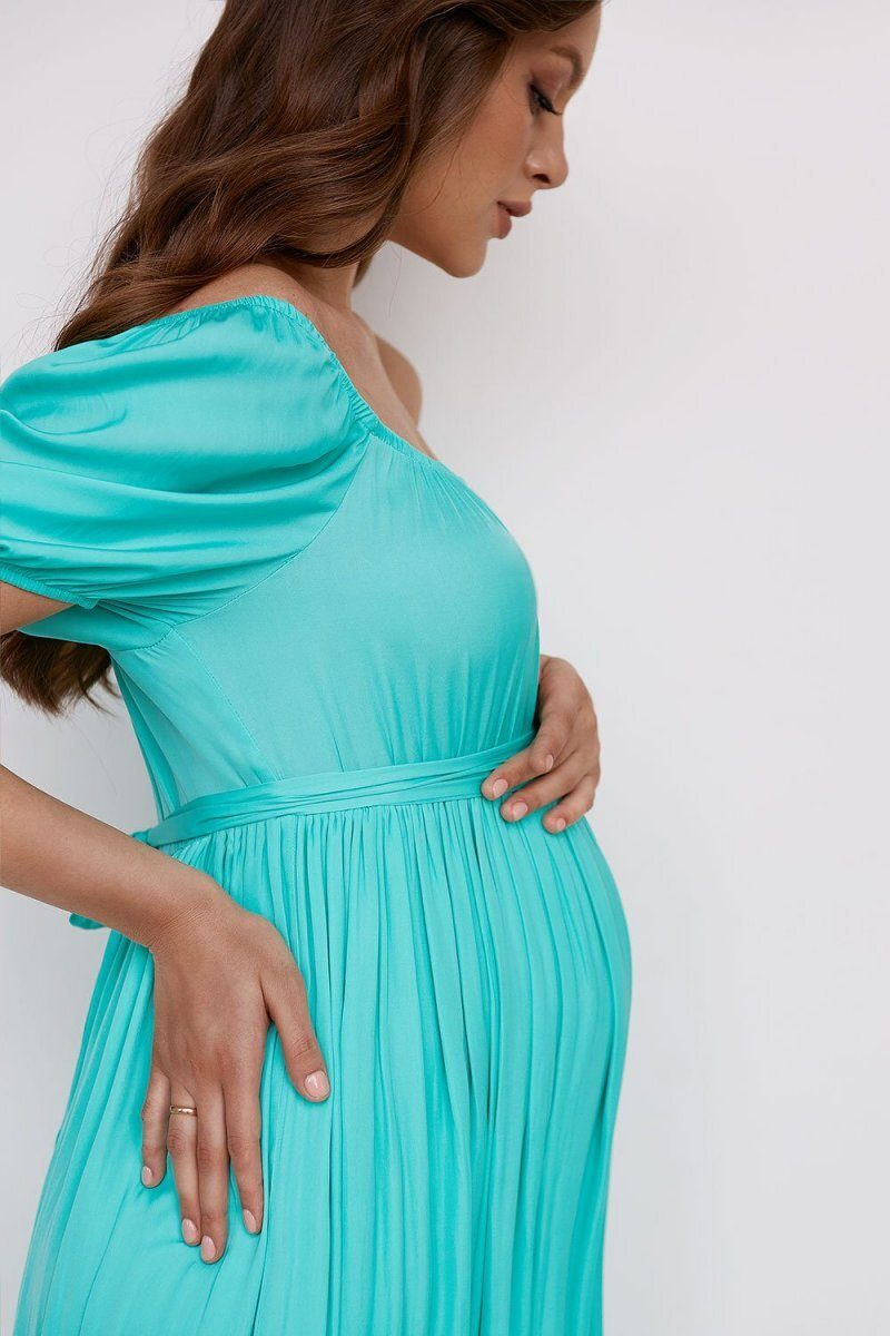 Платье для беременных 2103 1544 салатовый