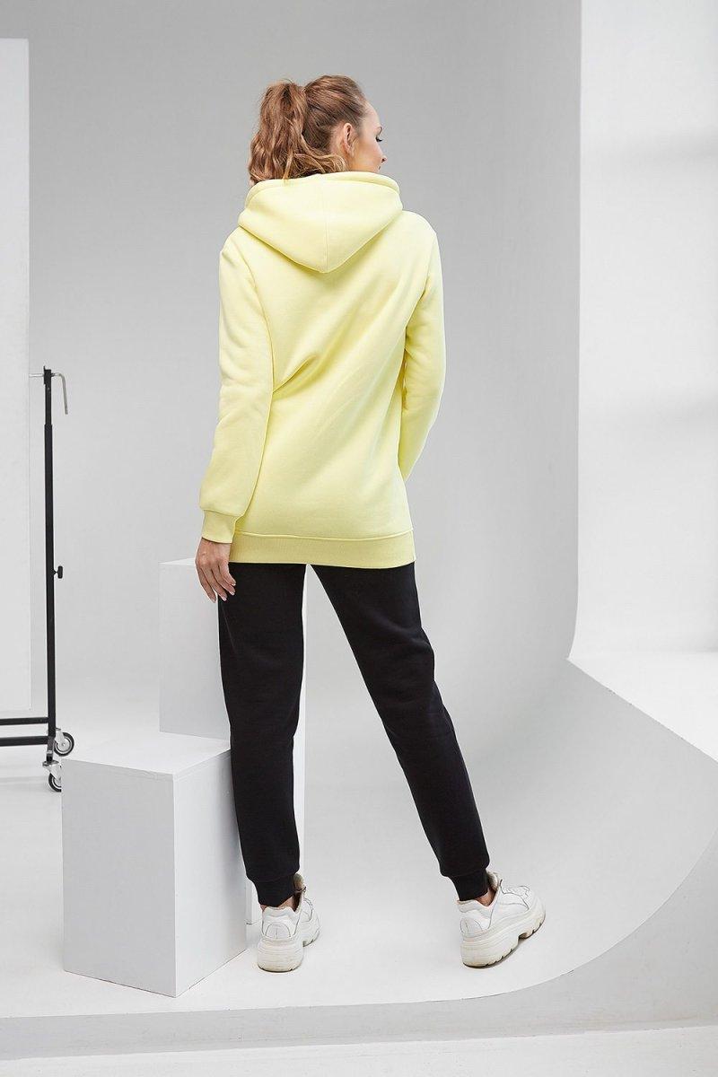 Худи с капюшоном 2105 1425 желтый