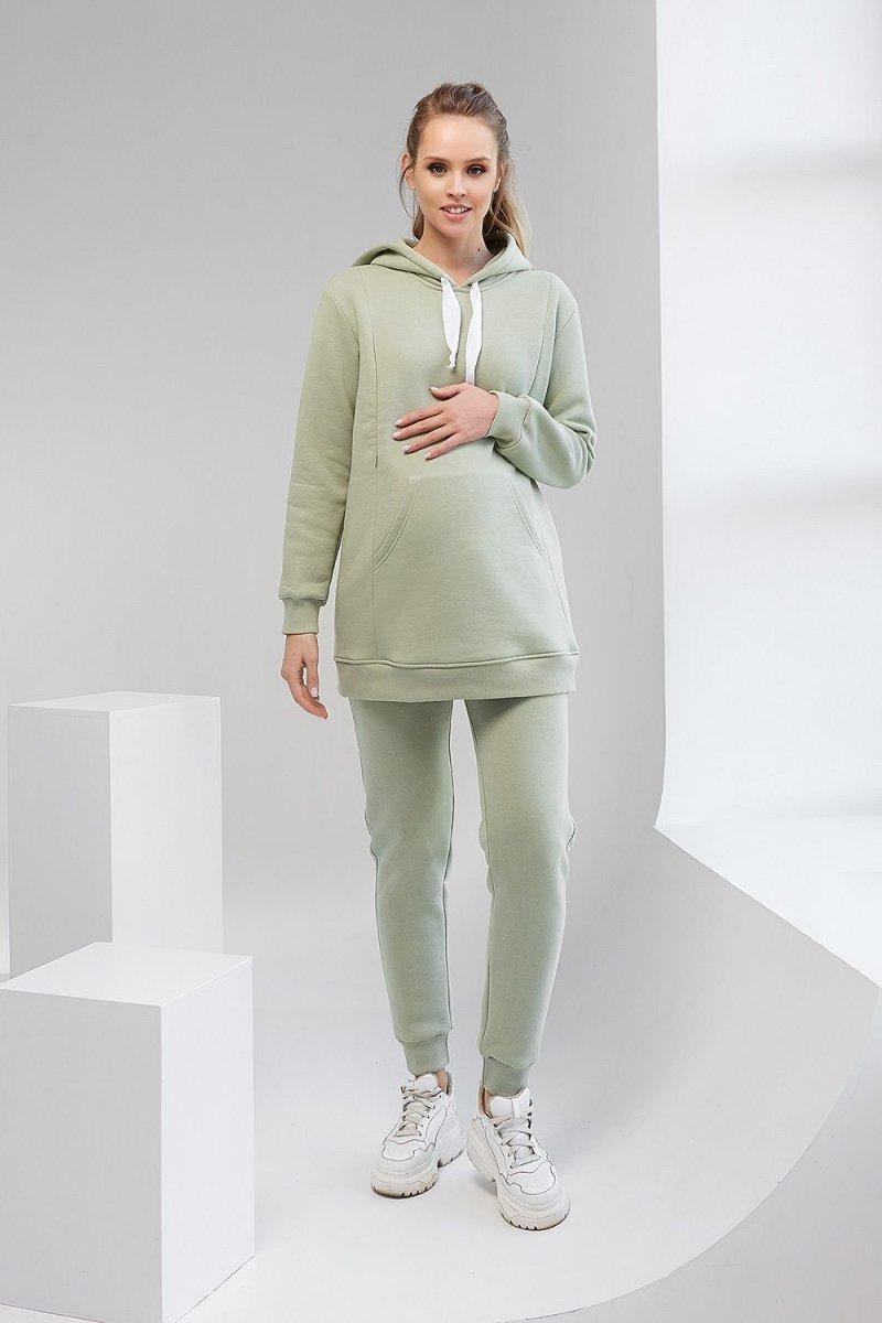 Штаны для беременных 2106 1427 фисташковый