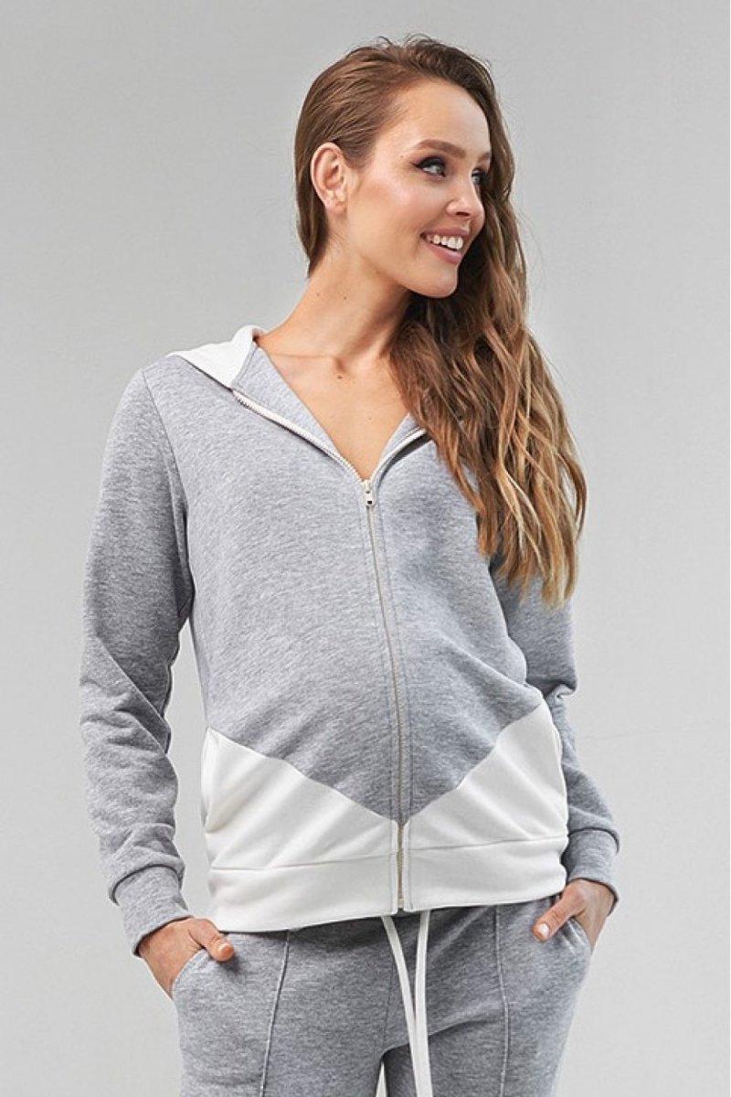 Свитшот для беременных 2124 1061 серый