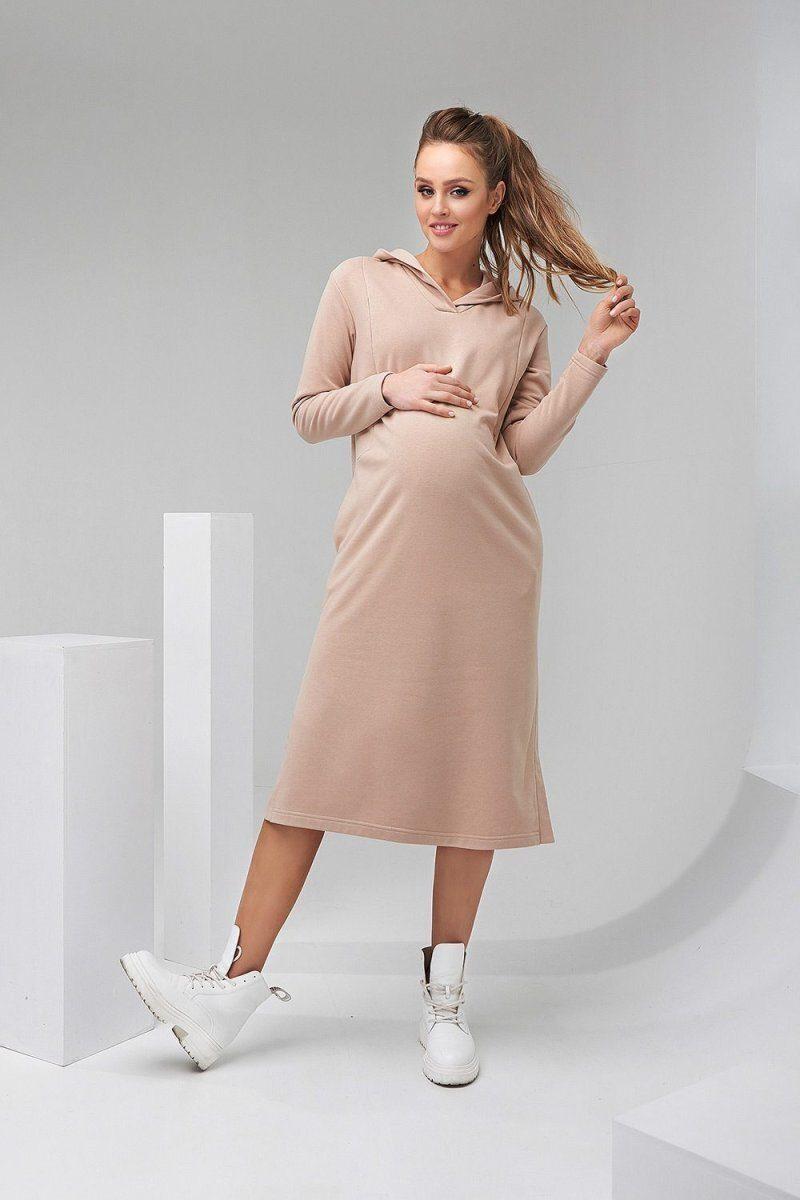 Платье-худи 2126 1501 бежевый