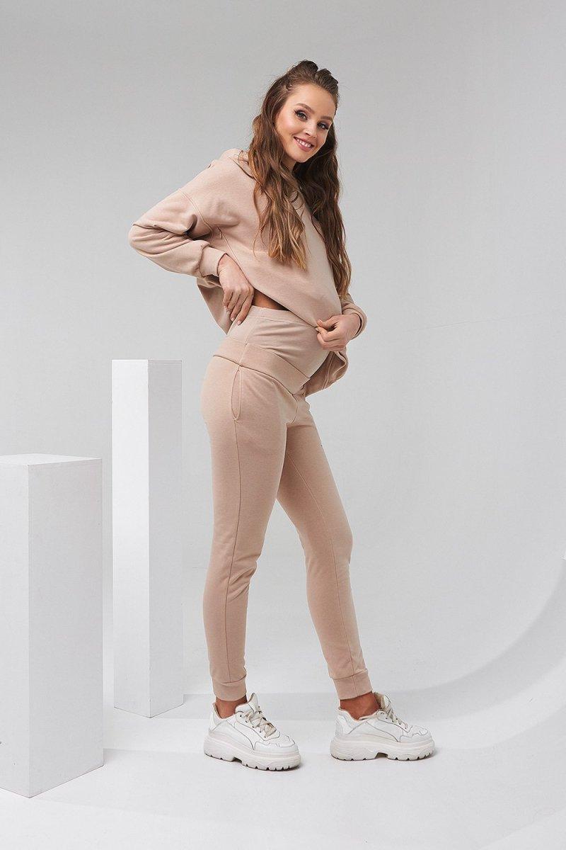 Спортивный костюм для беременных и кормящих 2135(6) 1501 бежевый