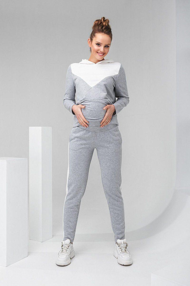 Штаны для беременных 2147 1061 серый