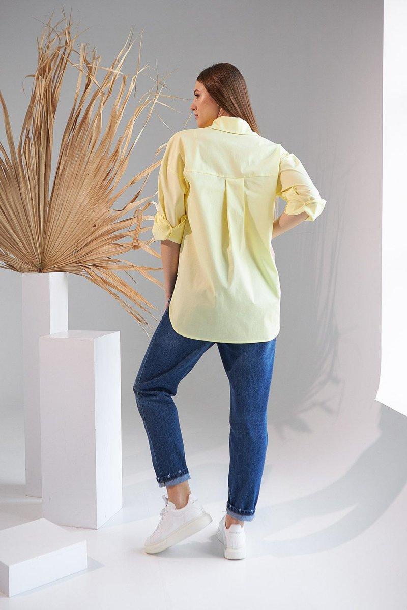 Рубашка для беременных 2151 1525 желтый