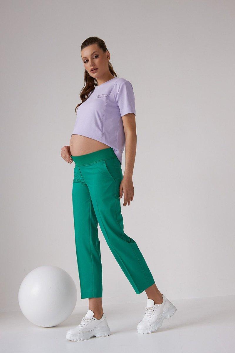 Штаны для беременных 2171 1542 зеленый