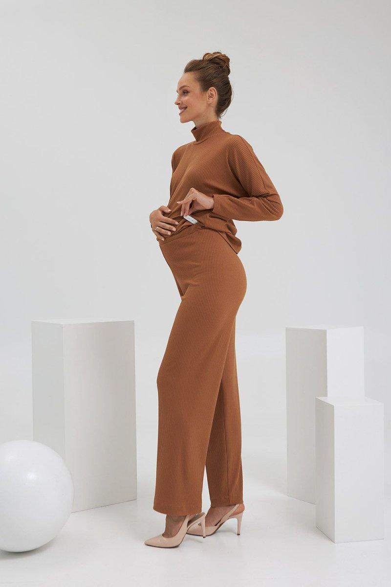 Штаны для беременных 2184 1555 рыжий