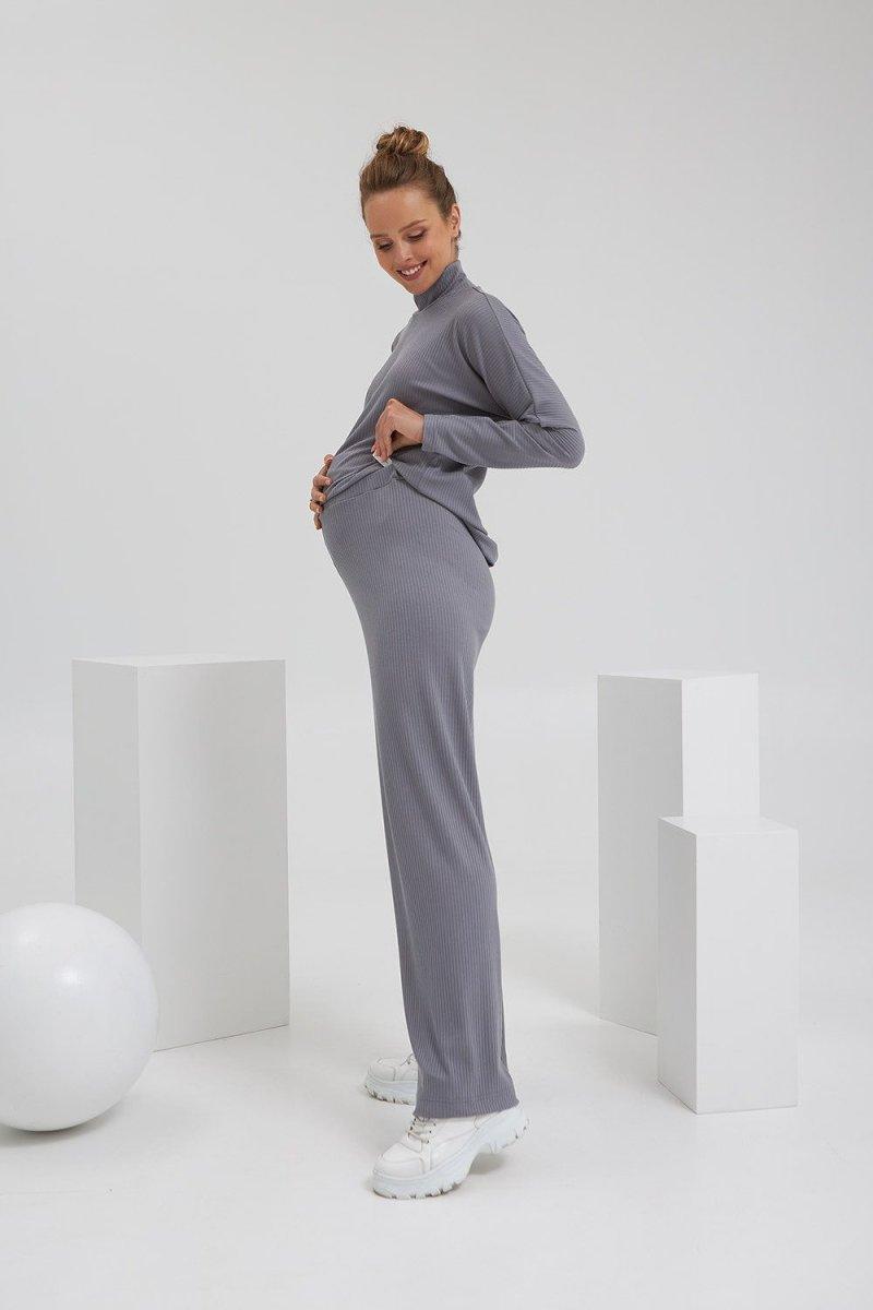 Штаны для беременных 2184 1556 серый