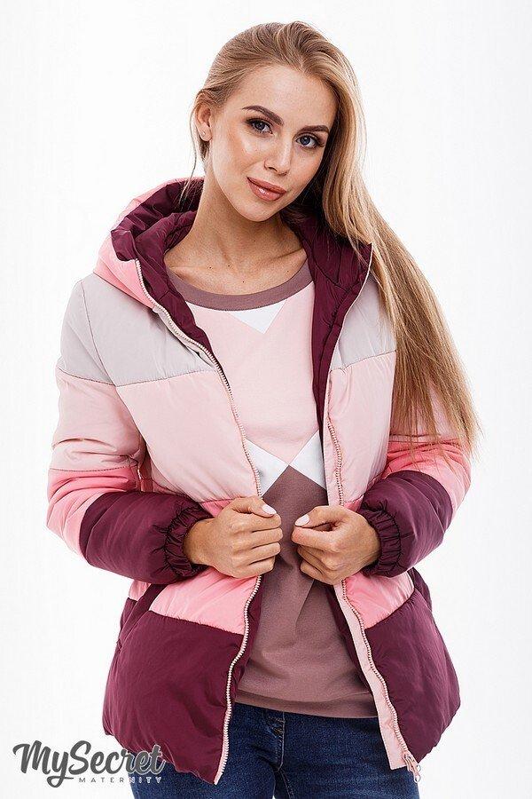 Демисезонная куртка для беременных Sia марсала