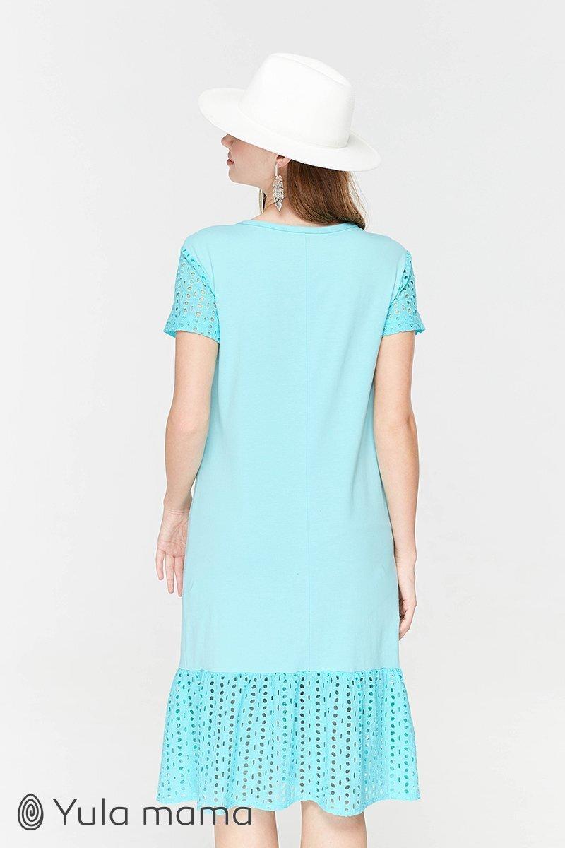 Платье-футболка для беременных и кормящих Dream ментол